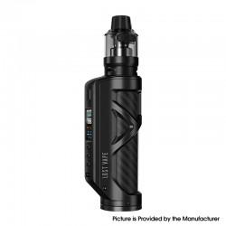 Authentic Lost Vape Cyborg Quest 100W TC VW Vape Box Mod Kit with UB Pro Pod Tank - Matt Black Carbon Fiber, 5~100W, 5ml