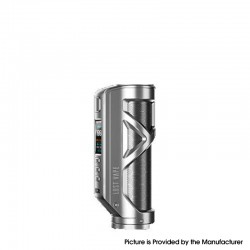 Authentic Lost Vape Cyborg Quest 100W TC VW Vape Box Mod - Stainless Steel Honeyconb, 5~100W, 1 x 18650 / 20700 / 21700