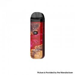 Authentic SMOKTech SMOK Nord Pro 25W Pod System Vape Kit - Red Stabilizing Wood, 1100mAh, 3.3ml, 0.6ohm / 0.9ohm