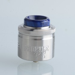 Authentic Wotofo & MR.JUSTRIGHT1 Profile PS Dual Mesh RDA Rebuildable Dripping Vape Atomizer - SS, 28.5mm Diameter