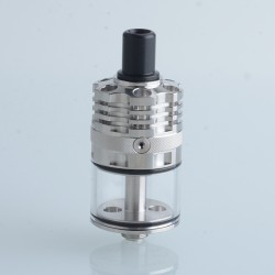 Authentic Ambition Mods Ripley MTL / RDL RDTA Rebuildable Dripping Tank Atomizer - Silver, 3.2ml, 22mm Diameter