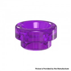 Authentic Damn Vape Nitrous RDA Replacement Wide Bore 810 Drip Tip - Purple