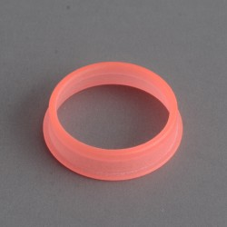 MK MODS Style Glow in the Dark Button Ring for DotMod Dotaio Pod System - Red (1 PC)