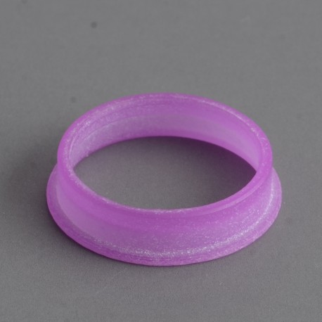 MK MODS Style Glow in the Dark Button Ring for DotMod Dotaio Pod System - Purple (1 PC)