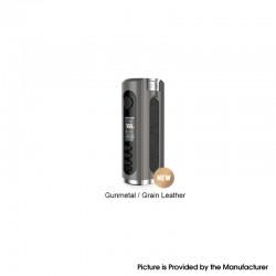Authentic Lost Vape Grus V2 100W TC VW Vape Box Mod - Gunmetal / Grain Leather, 5~100W, 100~300'C, 1 x 18650 / 20700 / 21700