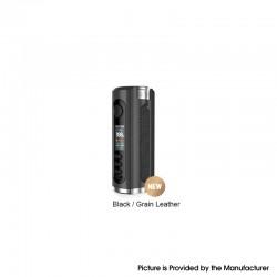 Authentic Lost Vape Grus V2 100W TC VW Vape Box Mod - Black / Grain Leather, 5~100W, 100~300'C, 1 x 18650 / 20700 / 21700