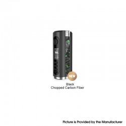 Authentic Lost Vape Grus V2 100W TC VW Vape Box Mod - Black / Chopped Carbon Fiber, 5~100W, 1 x 18650 / 20700 / 21700