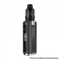 Authentic Lost Vape Grus V2 100W Box Mod Kit with UB Pro Pod - Black / Carbon Fiber, 5~100W, 1 x 18650 / 20700 / 21700, 5ml