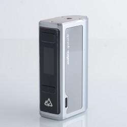 Authentic GeekVape OBELISK 200 VW Vape Box Mod - Silver, VW 5~200W, 2 x 18650, TC 200~600'F / 100~315'C