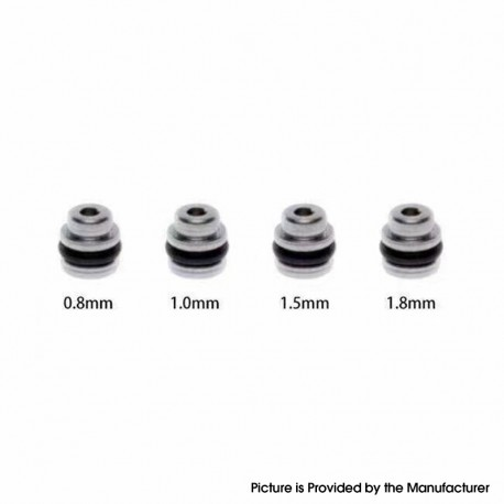 5AVape Taifun GT One Style RTA Replacement Air Insert Pins - 0.8mm, 1.0mm, 1.5mm, 1.8mm (4 PCS)