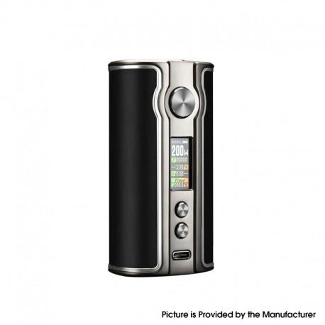 Authentic Pioneer4you iPV V200 200W VW Vape Box Mod - Aluminum Black, 5~200W, 2 x 18650, YiHi SX531 chip