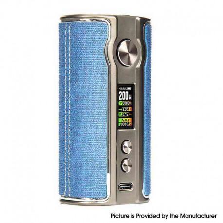 Authentic Pioneer4you iPV V200 200W VW Vape Box Mod - Woven Blue, 5~200W, 2 x 18650, YiHi SX531 chip