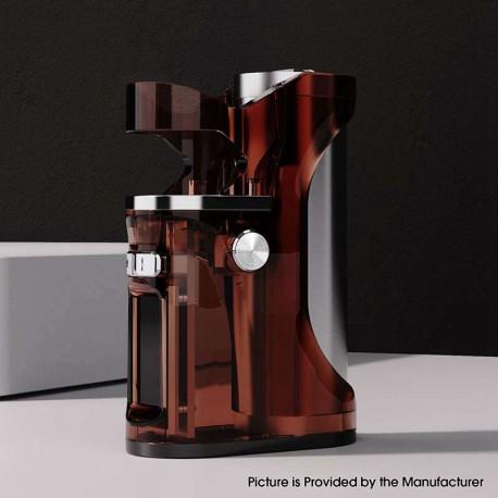 Authentic Hippovape B'adapt Pro 100W TC VW Vape SBS Box Mod - Red Brown, 1~100W, 100~315'C / 200~600'F, 1 x 18650/ 20700 / 21700