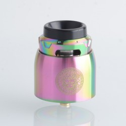 Authentic GeekVape Z RDA Rebuildable Dripping Vape Atomizer - Rainbow, BF Pin, Dual-Coil, 25mm