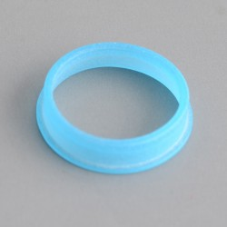 MK MODS Style Glow in the Dark Button Ring for DotMod Dotaio Pod System - Blue (1 PC)