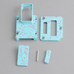 Replacement 4-in-1 Inner Set for DNA 60W / 70W BB Style Vape Box Mod - Tiffany Blue + Pink, Aluminum