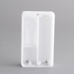 Replacement Frame for dotMod dotAIO SE Vape Pod System - White, Delrin (1 PC)