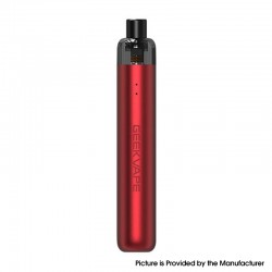 Authentic GeekVape Wenax S-C Pod System Vape Starter Kit - Devil Red, 1100mAh, 2.0ml, 0.6ohm / 1.2ohm