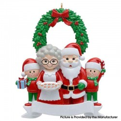Cute Family Christmas Tree Personalized Ornament Family Holiday Decoration Christmas Ornament - Family 4