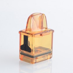 Authentic Rincoe Jellybox Nano Pod System Replacement Empty Pod Cartridge - Amber Clear, 2.8ml (1 PC)
