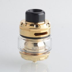Authentic Vandy Vape Kylin M Pro RTA Rebuildable Tank Vape Atomizer - Gold, 6.0ml / 8.0ml, 24.22mm Diameter