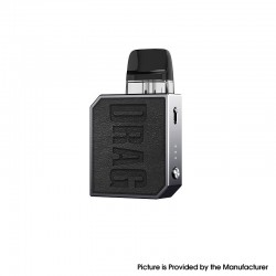 Authentic Voopoo Drag Nano 2 Pod System Vape Stater Kit - Classic Black, 800mAh, 2ml, 0.8ohm / 1.2ohm