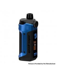Authentic GeekVape B100 Boost Pro Max 100W Pod System Vape Mod Kit - Almighty Blue, 5~100W, 1 x 21700, 6ml, 0.2ohm / 0.4ohm