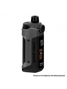 Authentic GeekVape B100 Boost Pro Max 100W Pod System Vape Mod Kit - Gunmetal, 5~100W, 1 x 21700, 6ml, 0.2ohm / 0.4ohm