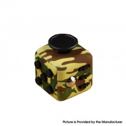 Decompression Magic Block Toy Adult Infant Infinite Finger Dice Cube - Camouflage Green