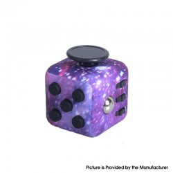 Decompression Magic Block Toy Adult Infant Infinite Finger Dice Cube - Starry