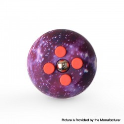 Decompression Button Ball Round Cube Hand Stand Handheld Games Educational Novelty Toy - Starry