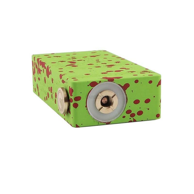 Cherry Bomber Black Red Aluminum 18650 Mechanical Box Mod