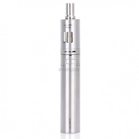 Authentic Joyetech eGo ONE VT Variable Temperature 2300mAh Starter Kit - Silver, Stainless Steel, 4.0mL, 1.0 Ohm