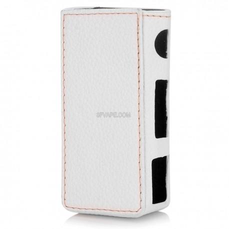 Authentic Vapesoon Protective Sleeve Case for Joyetech eVic VTC Mini 60W TC VW Mod - White, PU Leather