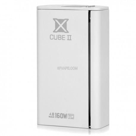 Authentic SmokTech X Cube II Bluetooth Temperature Control VW Box Mod - White, 6~160W, 200'F~600'F, 2 x 18650