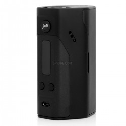 Authentic Wismec Reuleaux RX200 200W Temperature Control VW Variable Wattage APV Box Mod - Black, 1~200W, 3 x 18650