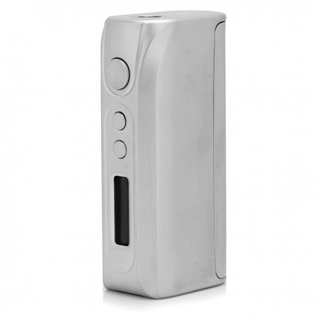 Authentic Pioneer4You iPV D3 Temperature Control VW Variable Wattage APV Box Mod - Silver, 7~80W, 1 x 18650