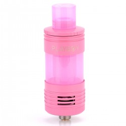 Authentic Playboy Vixen Mini Top / Bottom Filling Tank - Pink, Stainless Steel + Glass, 2.5mL, 22mm Diameter