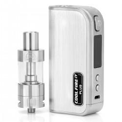 Authentic Innokin Coolfire IV Plus 70W 3300mAh VV / VW Box Mod + iSub G Starter Kit - Silver, 2~7.5V, 6~70W