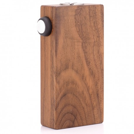Hexohm V3 Style VV Variable Voltage Mod - Brown, Wood, 3.49~5.77V, 2 x 18650