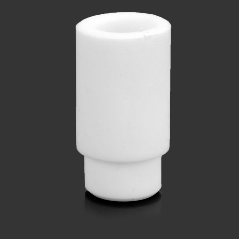 510 Drip Tip - White, Silicone, 20.9mm