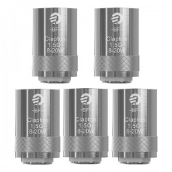Pre-order Authentic Joyetech BF SS316 Replacement Coil Heads For Cubis Tank - Silver, 1.5 Ohm (8~20W) (5 PCS)