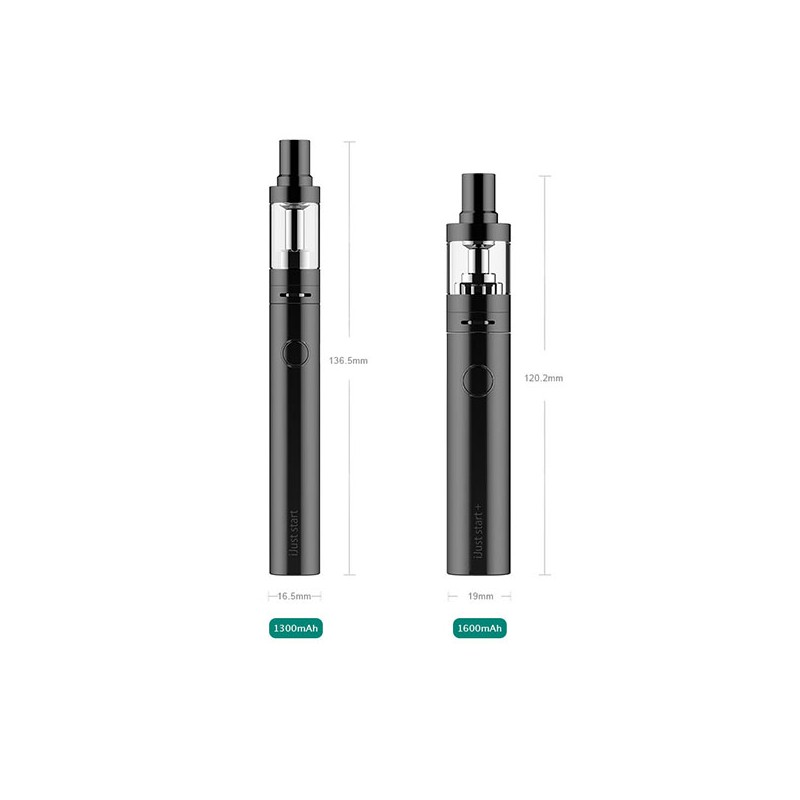 authentic eleaf ijust start white 1300mah battery starter kit