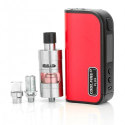Authentic Innokin Coolfire IV Plus 70W 3300mAh VV / VW Box Mod + iSub Apex Starter Kit - Red, 2~7.5V, 6~70W