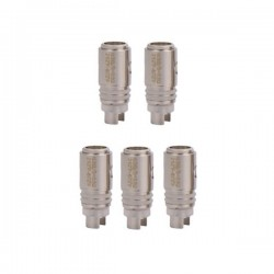 Authentic Horizon Arctic Turbo Ni200 Replacement Coil Heads - Silver, 0.3 ohm (5 PCS)