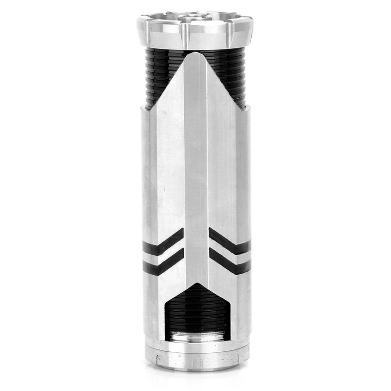 Decepticons Style Mechanical Mod - Silver + Black, Stainless Steel Brass, 1 x 26650