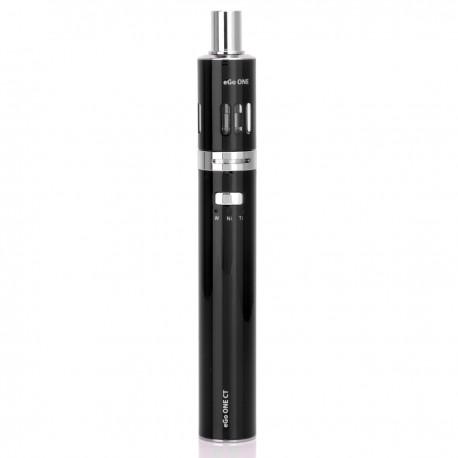 Authentic Joyetech Ego One CT XL Version 2200mAh Starter Kit - Black, Stainless Steel, 2.5mL, 1.0 Ohm, US Plug