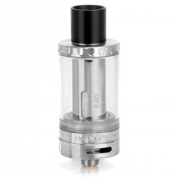 Authentic Aspire Cleito Sub Ohm Tank Clearomizer - Silver, 3.5ml, 0.4 ohm