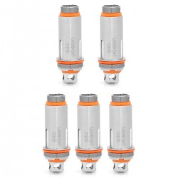 Authentic Aspire Cleito Replacement Coil Heads - Silver, 0.4 Ohm (40~60W) (5 PCS)