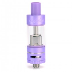 Authentic Kanger Subtank Nano Clearomizer - Purple, Stainless Steel + Glass, 3mL, 0.5 Ohm, 18.6mm Diameter